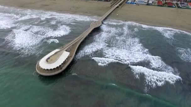 Letecká videa k molu a moře