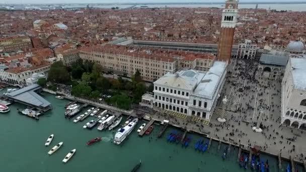Légi nézet a Velence Szent Márk tér