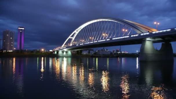 Apollo most přes řeku Dunaj v Bratislavě