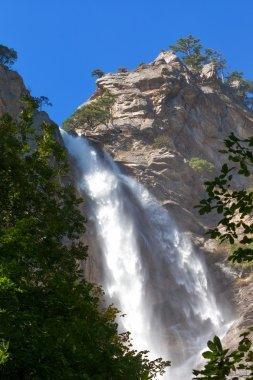 Uchan-su falls on the mountain Ah-Petri