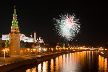 Moskova Kremlin, Rusya üzerinden Festival havai fişek