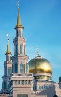 "Картина, постер, плакат, фотообои ""Купола соборной мечети в Москве"", артикул 96824464"