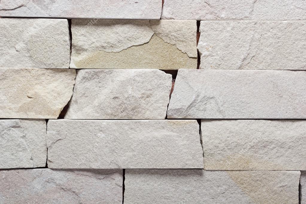Beautiful Weiße Ziegel Stein, Außen  Und Innendekoration Gebäude Incorporate U2014  Stockfoto