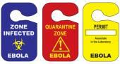 Mit dem Ebola-Virus infiziert
