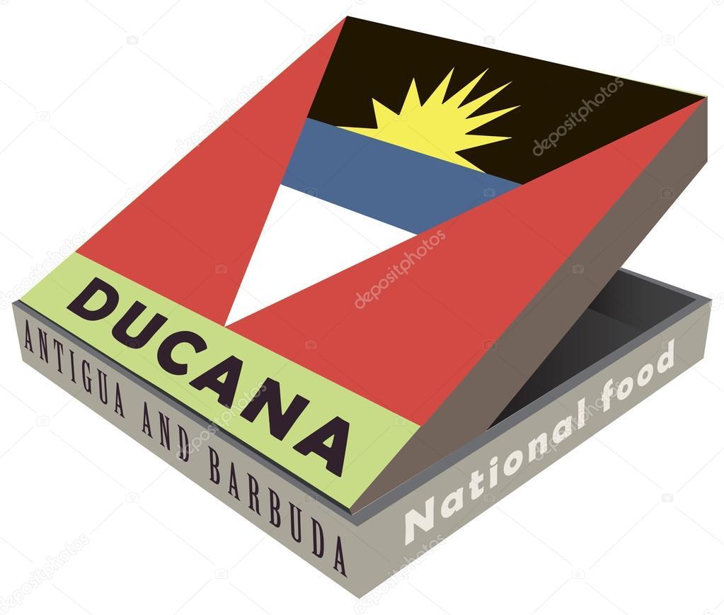 Ducana - national food of sweet potatoes