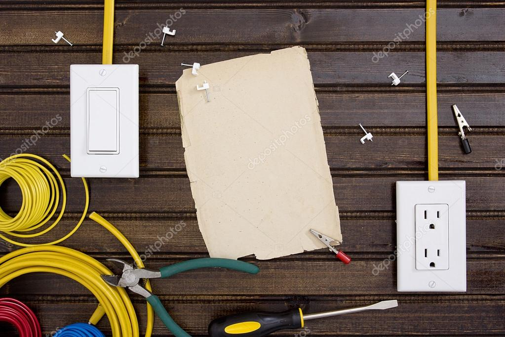 Equipment for installing electrical outlets