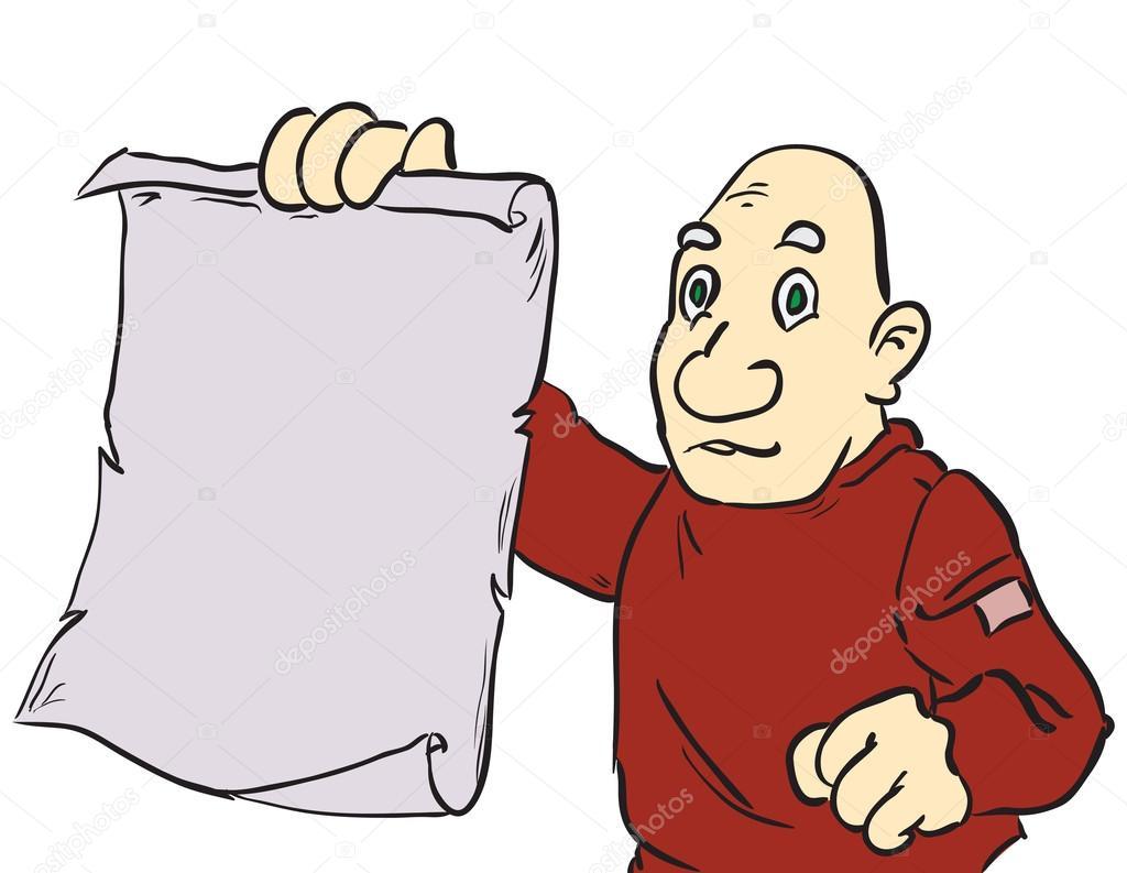 Dibujos De Pergaminos. Cheap Dibujos Banco Caricaturas Kn