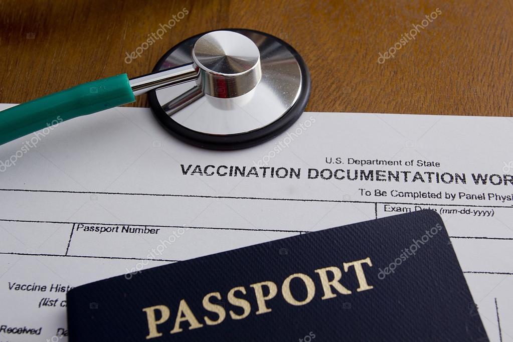 Impfung-Dokumentation-Arbeitsblatt — Stockfoto © VIPDesignUSA #75720257