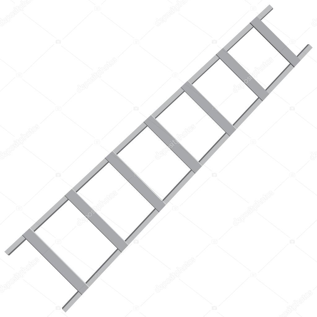 escalera de metal u archivo imgenes vectoriales