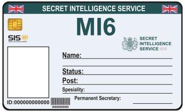 Identity a secret agent of MI 6
