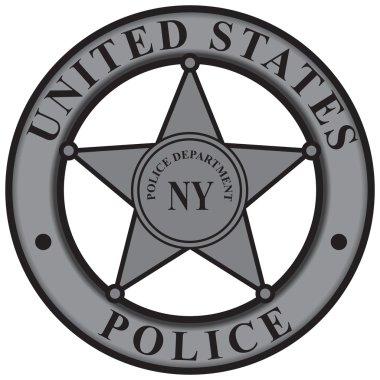 Badge New York Police Department