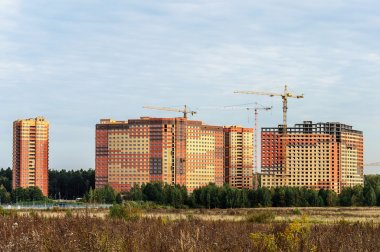Construction of high-rise buildings in new sleeping quarters