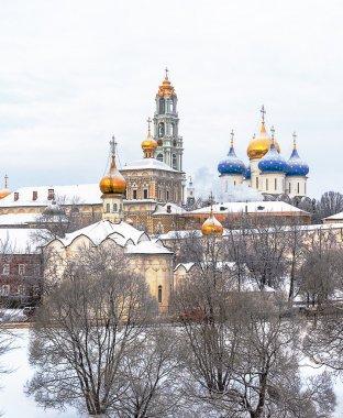 Trinity-Sergius Lavra in Sergiev Posad, winter time