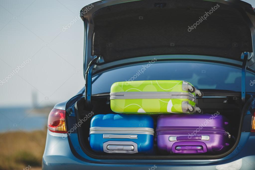 Family car, ready to travel