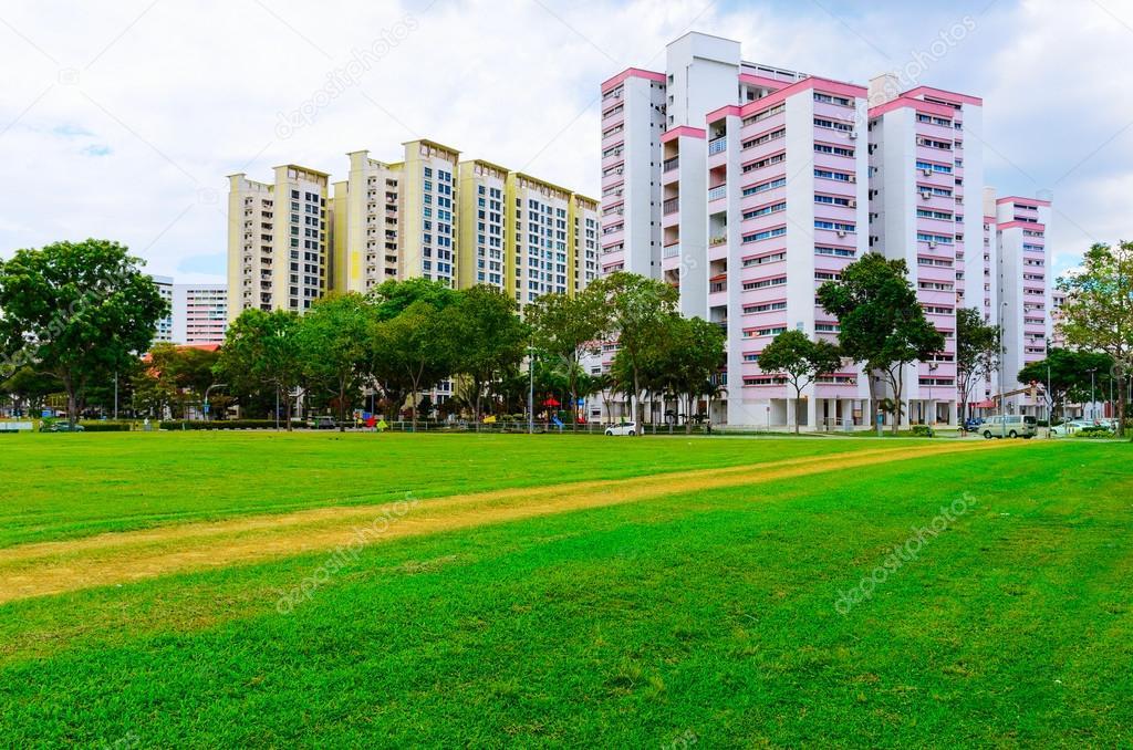 Singapore residential buildings