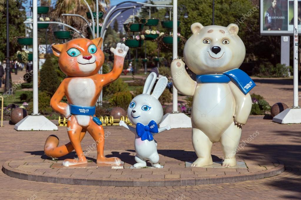 Sochi unveils mascots for 2014 Winter Olympics |Winter Olympics 2014 Mascot Names