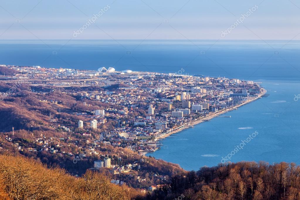 Adler Cape. Sochi. Russia