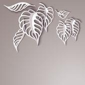 Fotografie Paper Leaves Background