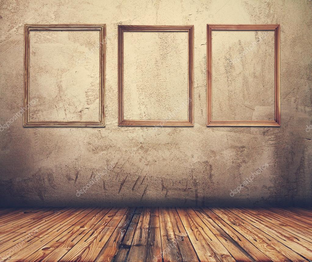 Zimmer mit Bilderrahmen — Stockfoto © avlntn #68442707