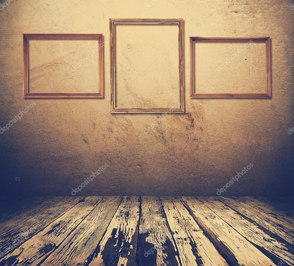 Zimmer mit Bilderrahmen — Stockfoto © avlntn #90404950