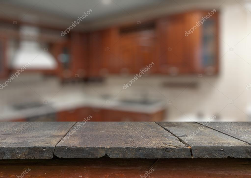 Lege oude houten tafel u stockfoto avlntn
