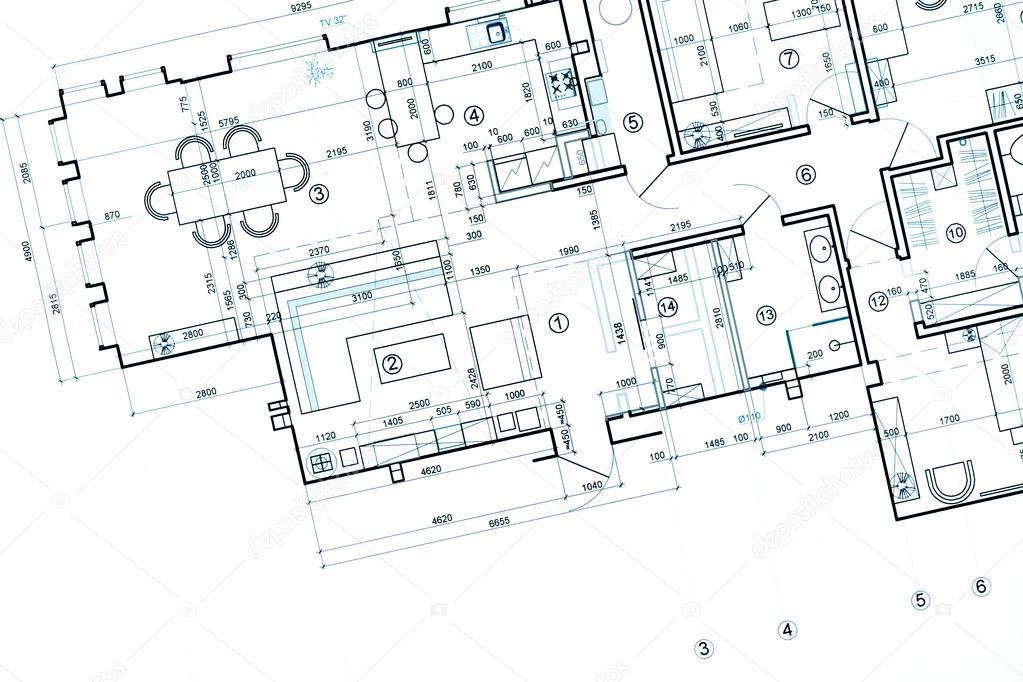 Plan budowy architektoniczne projekt techniczny for Ejes arquitectonicos