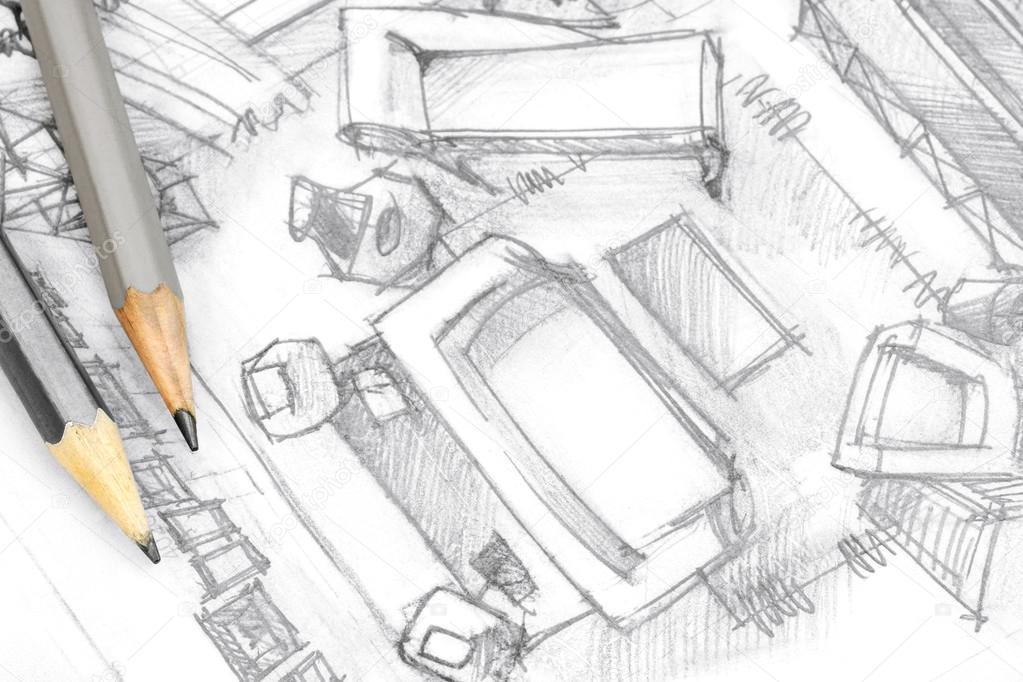 https://st2.depositphotos.com/1000733/11453/i/950/depositphotos_114536672-stockafbeelding-bovenaanzicht-architecturale-tekening-van-de.jpg