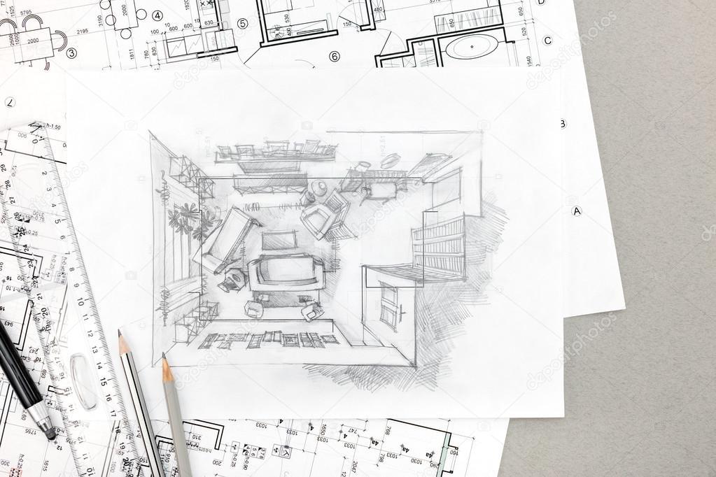 Dessin Intrieur Maison. Free Clipart Dessin Anim Appartement Cuisine