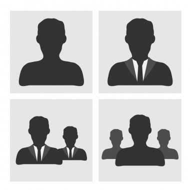 Business man icons