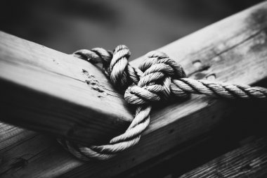 Rope with node