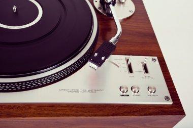 Stereo Turntable Vinyl Record Player Analog Retro Vintage