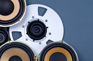 Audio Sound Speakers and Open Reel Objects Collection