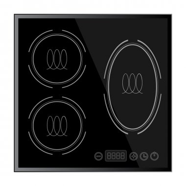 Kitchen - Induction hob, household appliances