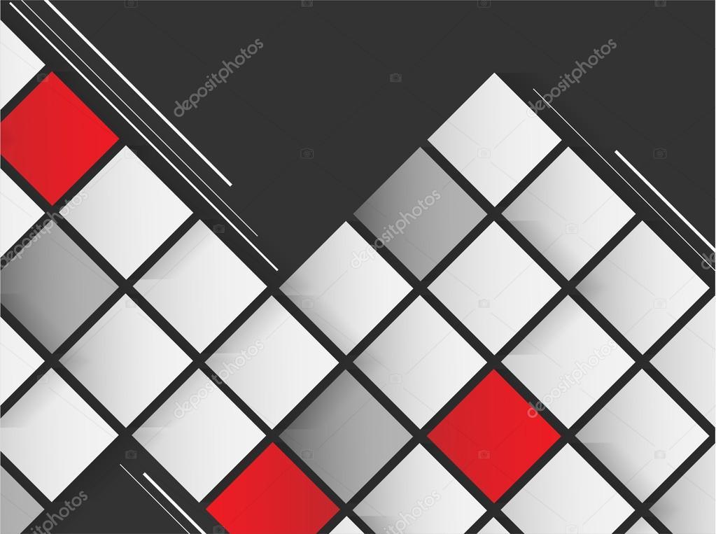 abstrakte Vorlage Quadrate — Stockvektor © marivlada #64597209