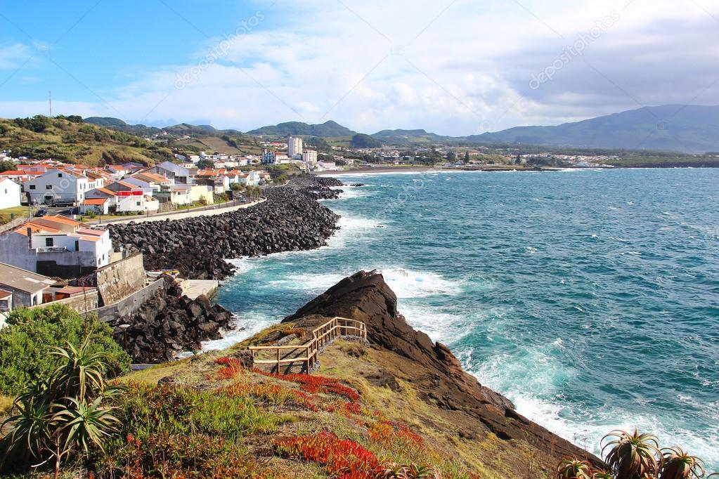 Insel Sao Miguel Azoren Portugal Stockfoto C Karnizz 100140602