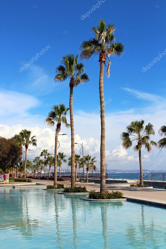 Molos Promenade in Limassol, Cyprus