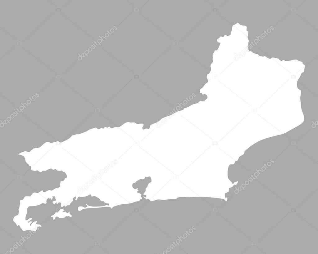 Rio De Janeiro Karte.Karte Von Rio De Janeiro Stockvektor C Rbiedermann 102557836