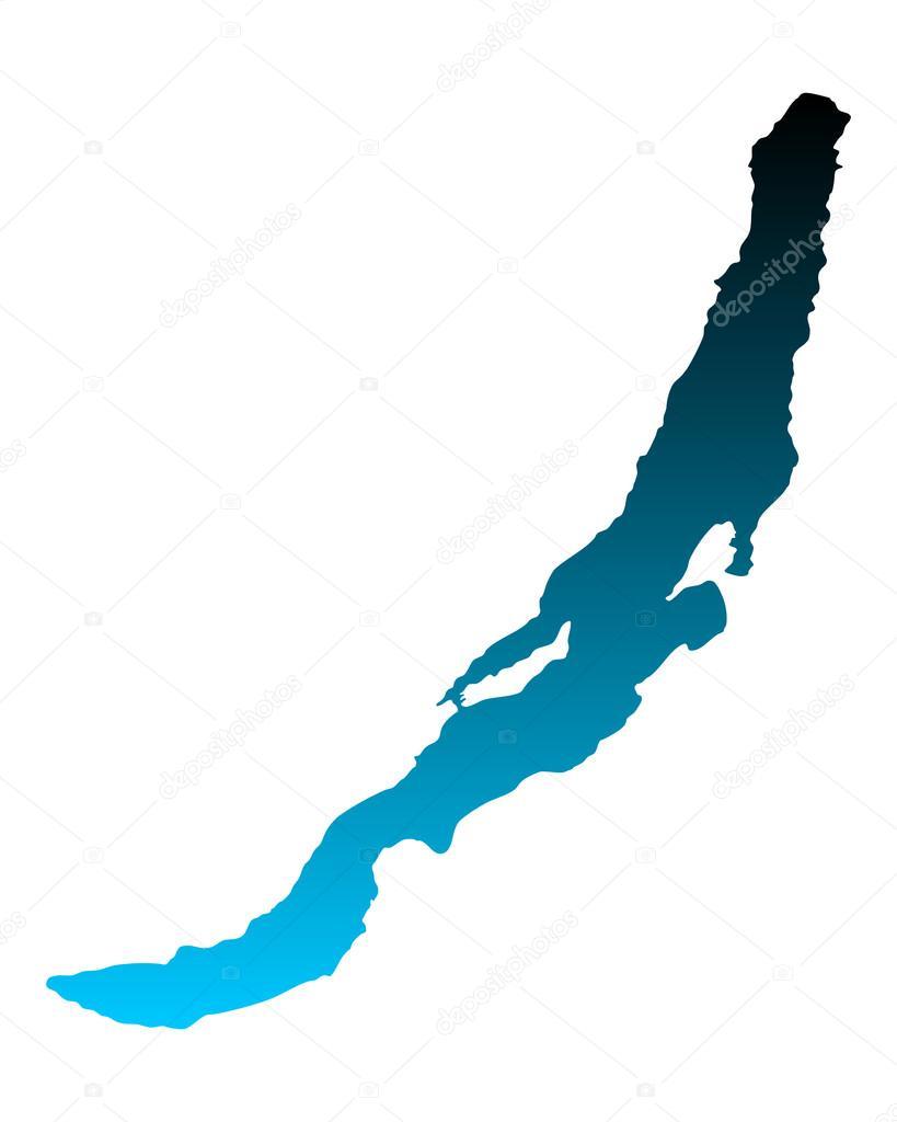 Lake Baikal World Map.Map Of Lake Baikal Stock Vector C Rbiedermann 87573616