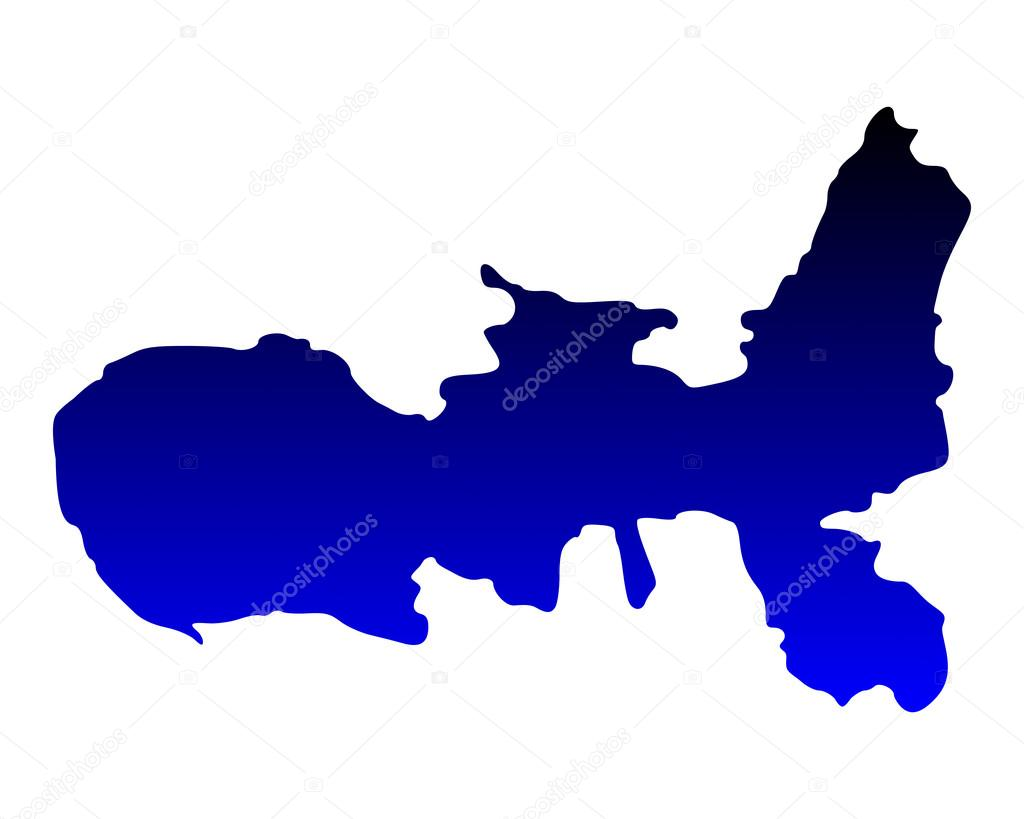 Insel Elba Karte.Genaue Karte Der Insel Elba Stockvektor Rbiedermann 93063700