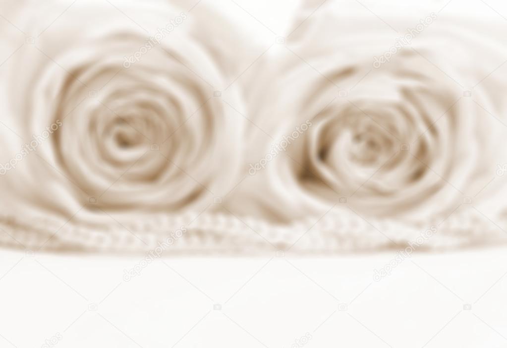 sch ne weisse rosen in sepia in get nten verwischen stil als hochzeit b stockfoto. Black Bedroom Furniture Sets. Home Design Ideas