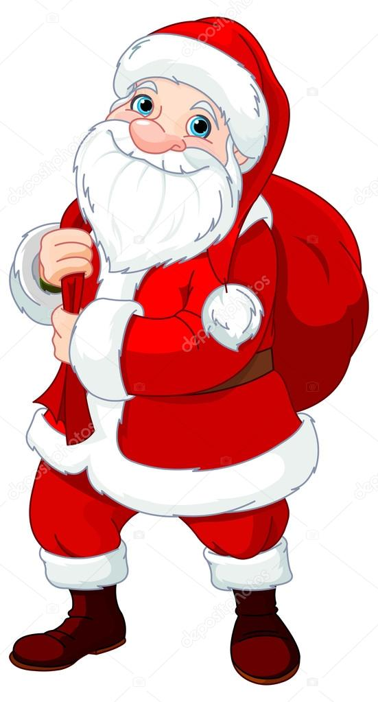 Santa Claus who brought gifts