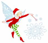 Fotografie Christmas Fairy