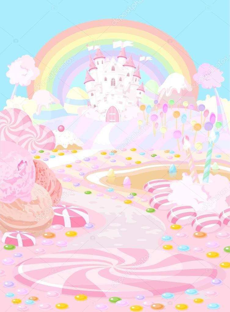 Colored a fairy kingdom