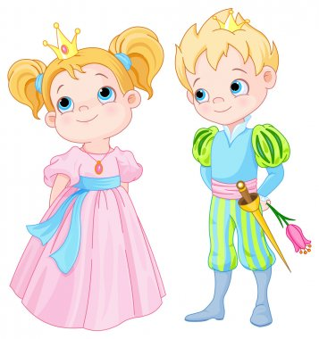 Cute Prince and Princess
