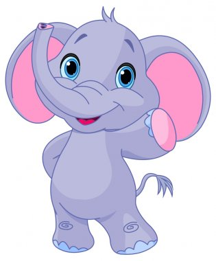 Very cute elephant