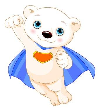 Super Hero Polar Bear