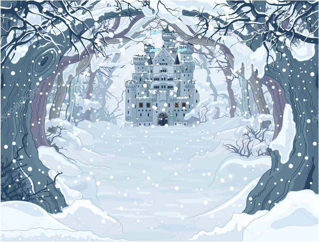 Winter Princess Castle