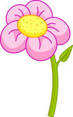 Illustration of pink flower