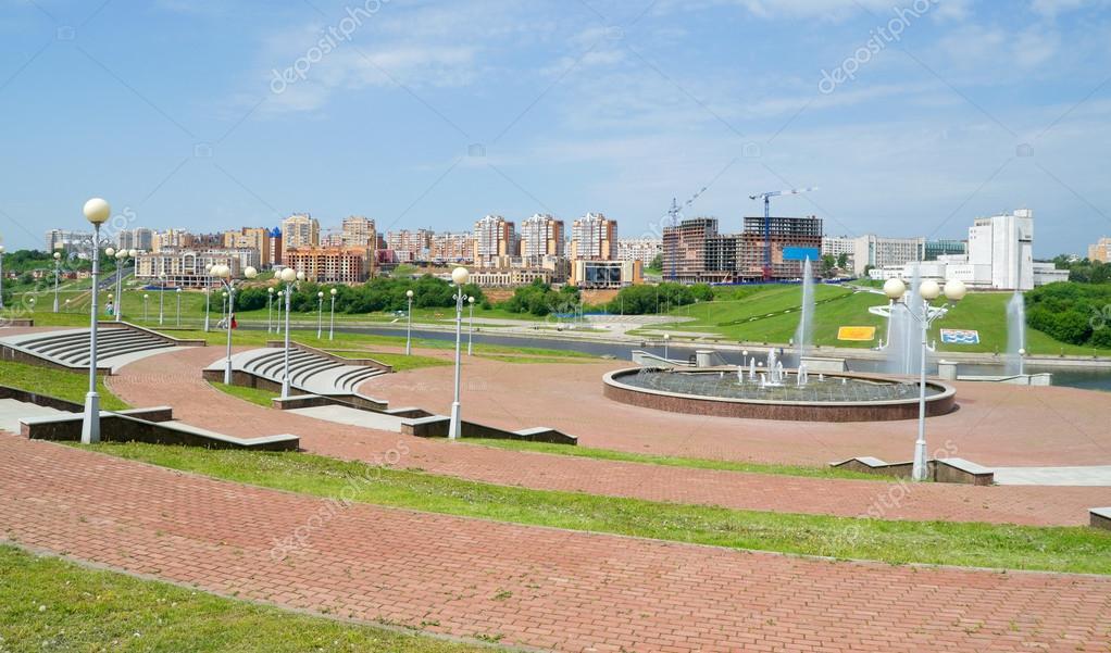 City Cheboksary, Chuvashia, Russia, May.