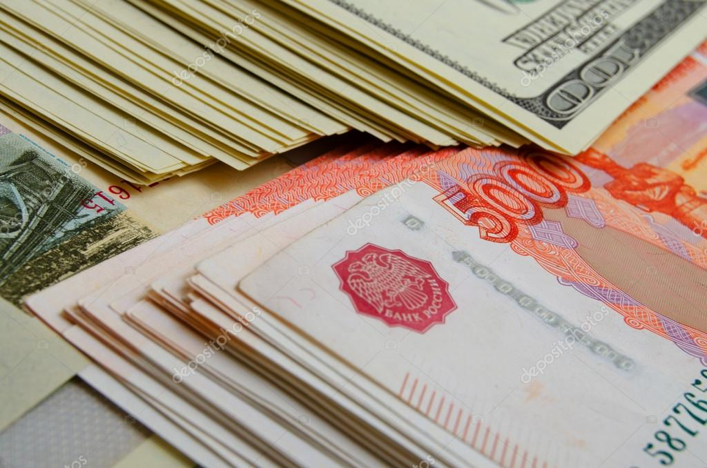 currency speculation the ruble dollar stock photo rrraum 94057064